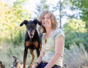 Dog trainer Catherine Adams